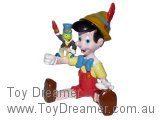 Pinocchio: Pinocchio Sitting with Jiminy Cricket