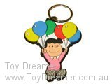 Keyring - Lucy and Balloons
