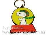 Keyring - Snoopy Red Baron