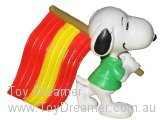 Snoopy Red/Yellow Flag