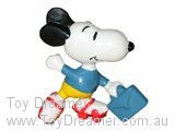 Snoopy with Skates & Blue Briefcase