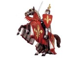 Prince on Reared Horse (Red)