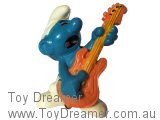Rock N Roll Smurf - Orange Guitar