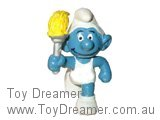 Olympic Torchbearer Smurf (All white)